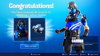 "NEW ""CARBON"" PLAYSTATION PLUS PACK FREE! FORTNITE CARBON COMMANDO SKIN PACK! (PS4 EXCLUSIVE PACK)"