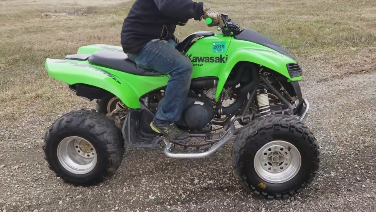 2007 kawasaki kfx 700 quad atv fully auto with reverse for. Black Bedroom Furniture Sets. Home Design Ideas