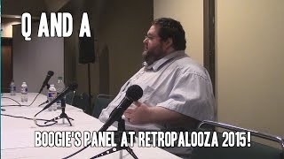 Q and A Panel at Retropalooza 2015!
