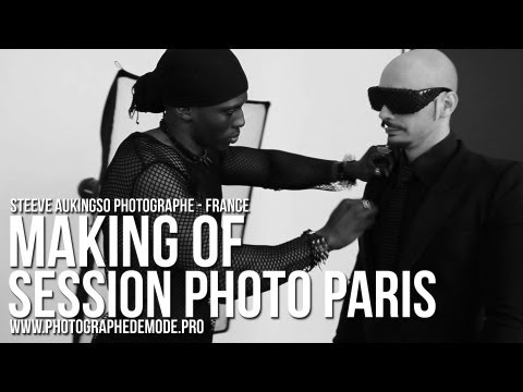 PHOTOGRAPHE DE MODE PARIS - MAKING OF SESSION PHOTO - STEEVE AUKINGSO