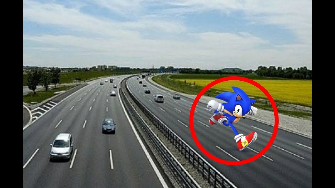 5 Sonic Caught On Camera Spotted In Real Life Youtube