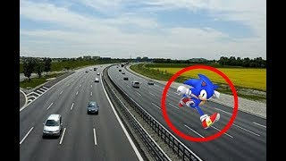 5 SONIC CAUGHT ON CAMERA & SPOTTED IN REAL LIFE!