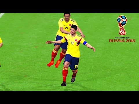 Colombia vs Japan   Group H   FIFA World Cup Russia 19 June 2018 Gameplay