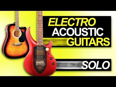 Jam - Electro-Acoustic Guitars Solo