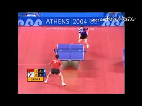 Table Tennis 2004 OL Wang Hao vs Ryu Seung Min