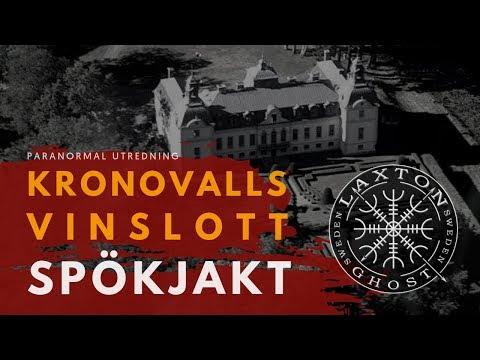 Spöken Paranormal Investigation of Kronovalls Vinslott. LaxTon Ghost Sweden Spökjägare
