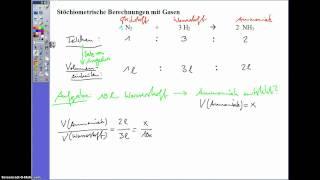 Stöchiometrische Berechnungen mit Gasen(1)