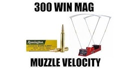 180 Grain Remington Core-Lokt 300 Win Mag Velocities