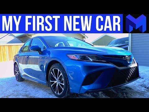 I Bought My First New Car! 2018 Toyota Camry SE Upgraded