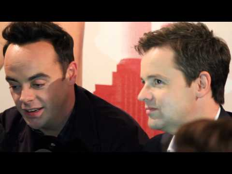 Ant and Dec say they'd never go in the jungle!