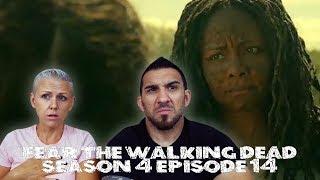 Fear the Walking Dead Season 4 Episode 14 'MM 54' REACTION!!