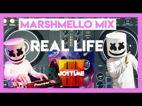 Marshmello Joytime 3 Album Mix in REAL LIFE | DDJ 400