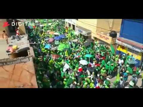 Asistencia masiva a la Marcha Verde San Pedro de Macorís