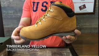 Timberland Yellow WNTR Mid
