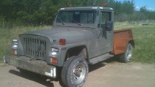 Jeep CJ-10a with a 4bd1t  diesel and 727 torque flight trans