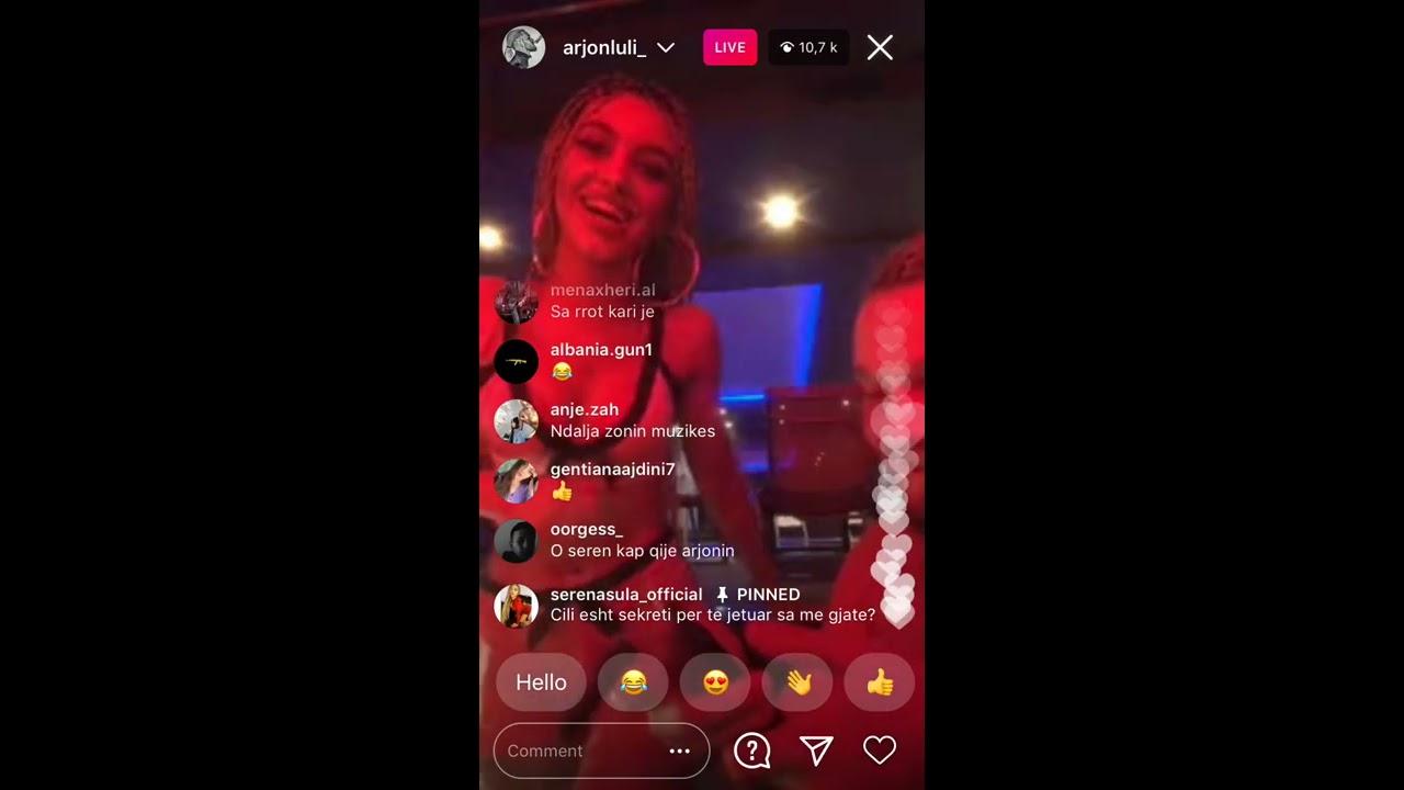 Arjon Luli live me Serena Sula... Video +18 - YouTube
