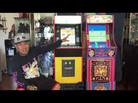 """Arcade1up Ms. Pac-Man 20"""" dell vertical mods from 2Dai4"""