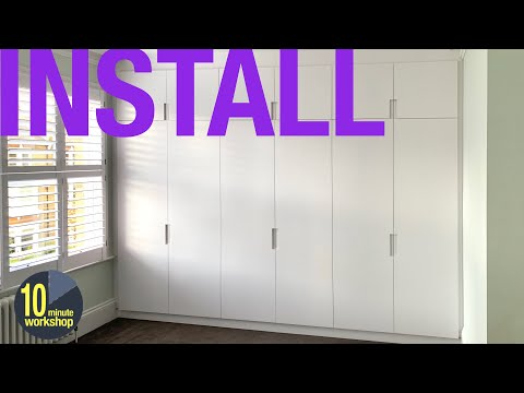 Built-in Wardrobes and Shelving Installation [video #344]