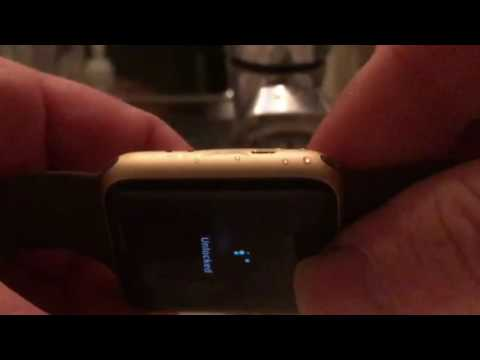 Apple Watch water eject mode