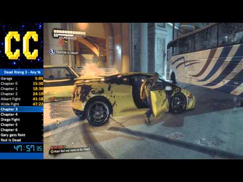 Dead Rising 3 - Speedrun in 1:43:42 (Live Commentary)