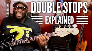 Having Fun with DOUBLESTOPS!! & Bonus Exercise | Bass Guitar Tips