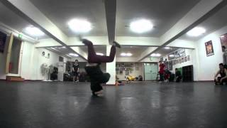 Bboy The End power move 2012