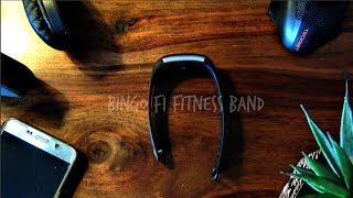 Bingo F1 fitness band review and unbox