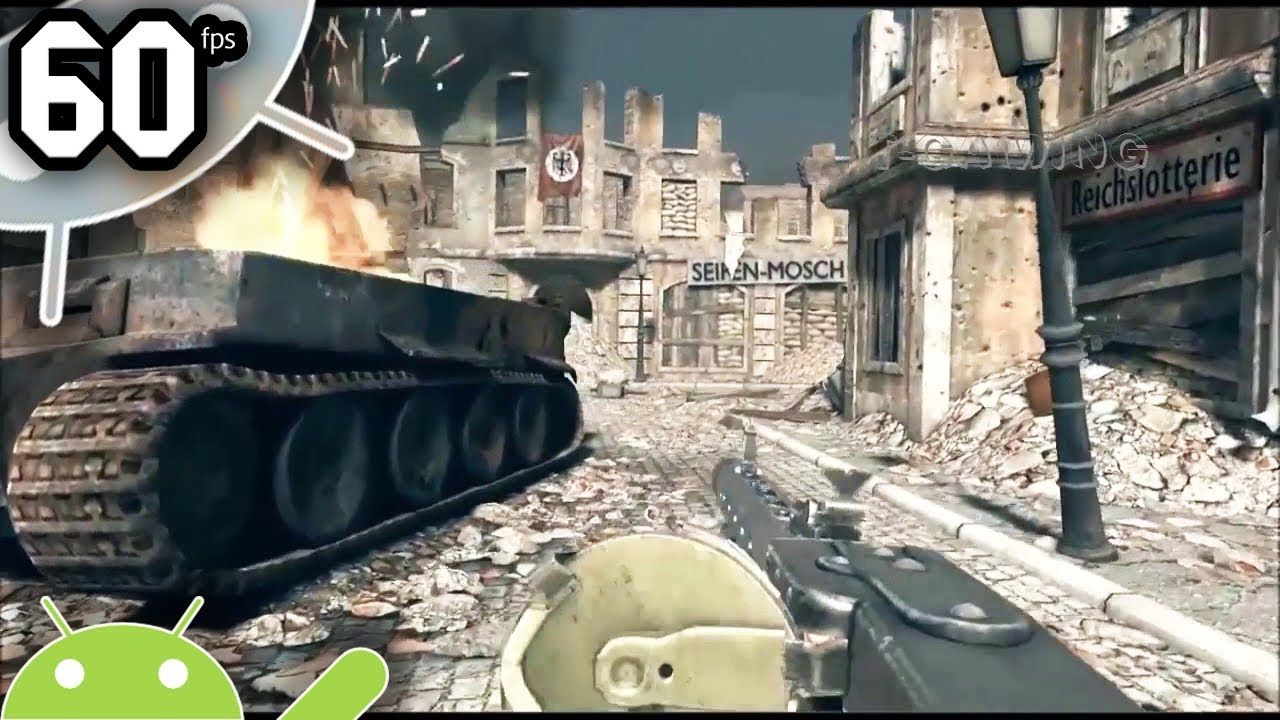 world war hero action game for android phone