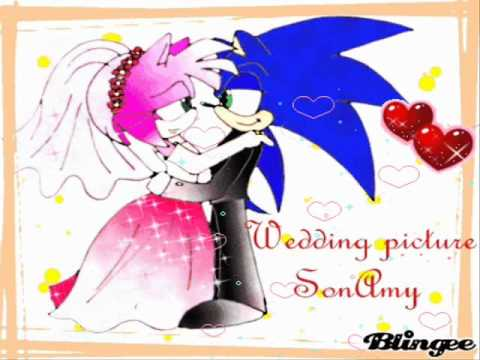 sonic marries amy! - YouTube  sonic marries a...