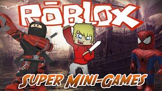Roblox DOIDO ! Super Mini-Games !!!