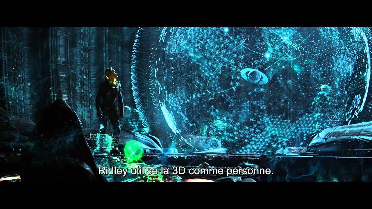 Prometheus - Featurette Le Monde de Prometheus VOST HD