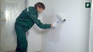 ДОМ ЗА ГОД. Покраска стен