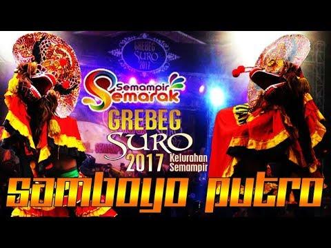 SAMBOYO PUTRO Terbaru Rampokan Singo Barong Live Spektakuler Semampir Kediri 2017