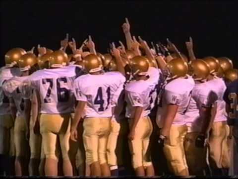 Western Beaver Football 2000 Season Highlights