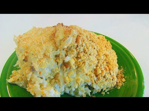 Betty's Sour Cream And Cheddar Potato Casserole