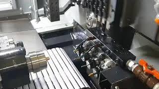한화기계 XD20H CNC자동선반 절삭가공