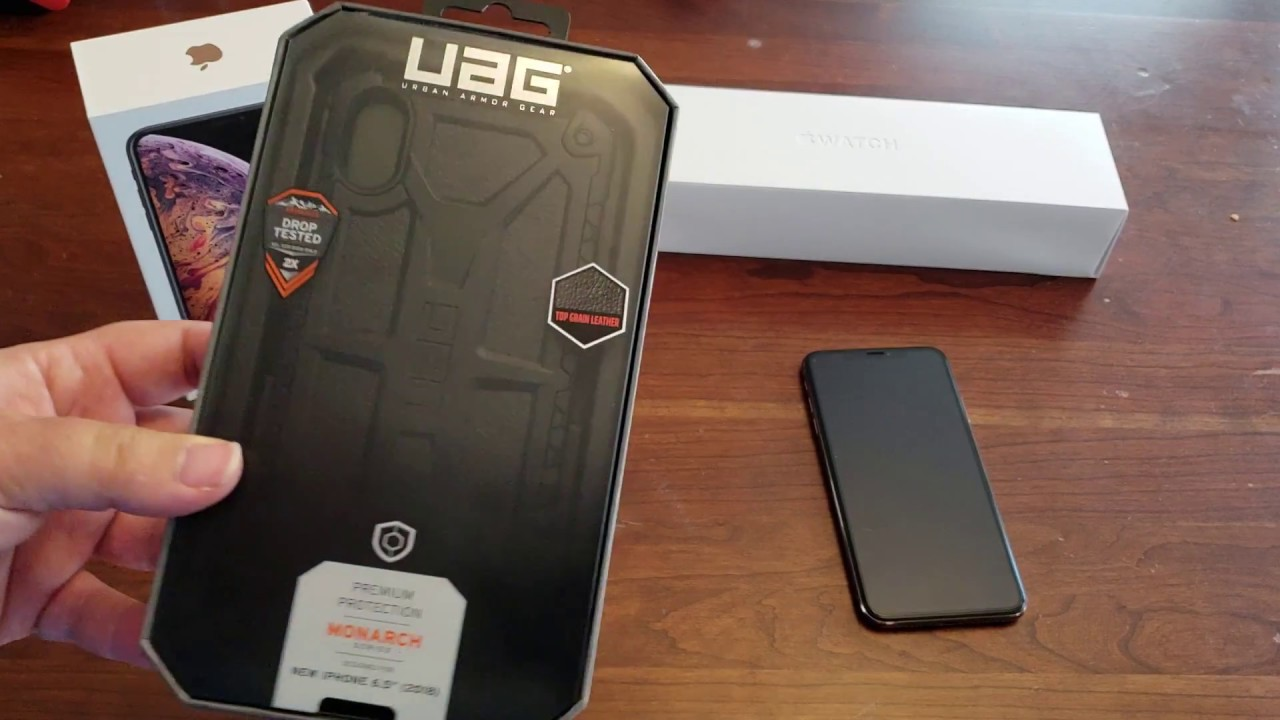 Uag hülle iphone xs max