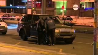 На юге Москвы неизвестные расстреляли водителя внедорожника