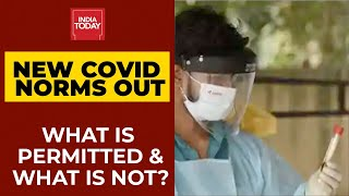 MHA Issues New COVID-19 Guidelines From December 1: What Is Permitted & What Is Not? | India Today