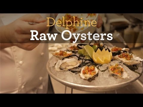 Inside My Kitchen - Raw Oysters Recipe