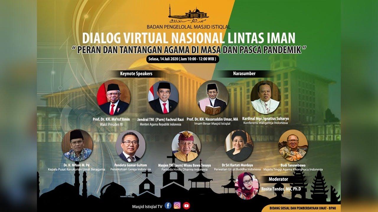 LIVE Dialog Virtual: Peran dan Tantangan Agama di Masa dan Pasca Pandemik