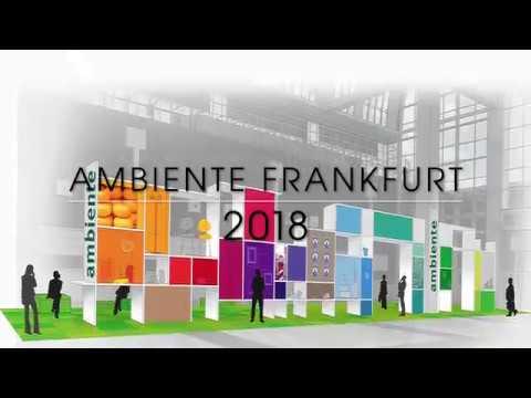 ambiente messe frankfurt 2018 fashion show youtube. Black Bedroom Furniture Sets. Home Design Ideas