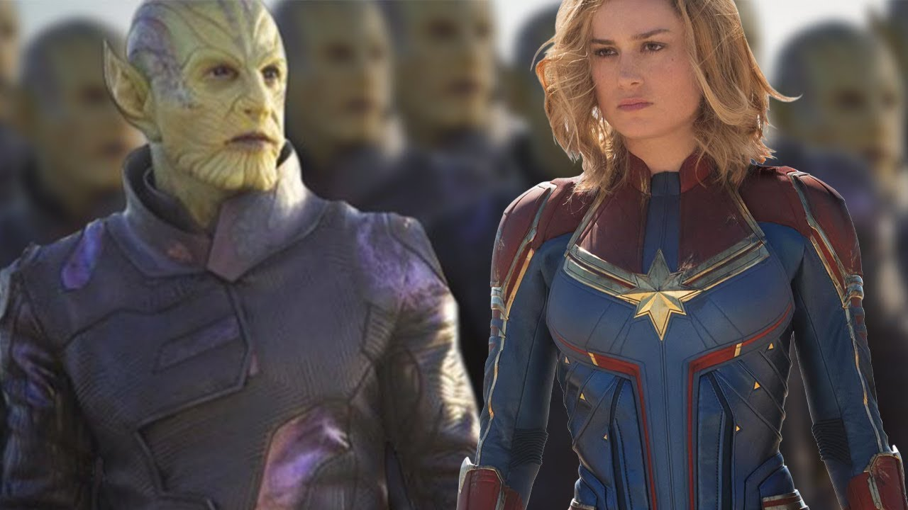 The Skrulls Origins And Powers Explained Captain Marvel Youtube