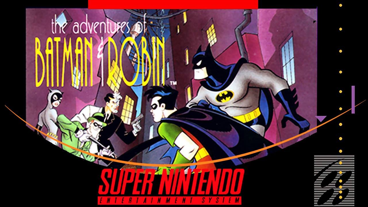 Image result for The Adventures of Batman and Robin snes