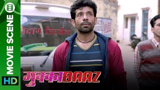 Vineet becomes a roadside Romeo - Mukkabaaz