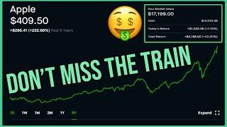Apple Stock is Dominating - Robinhood Investing | $109,000 Portfolio Update and Breakdown
