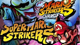 NGC & Wii Super Mario Strikers and Super Mario Strikers Charged HD Intros