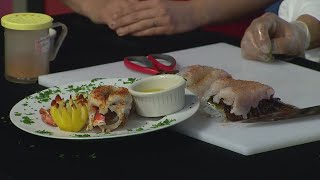 Preparing Lobster Tail With Spoons Bistro & Bakery