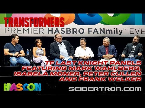 HASCON 2017: Transformers Last Knight panels with Mark Wahlberg, Peter Cullen, Frank Welker and more