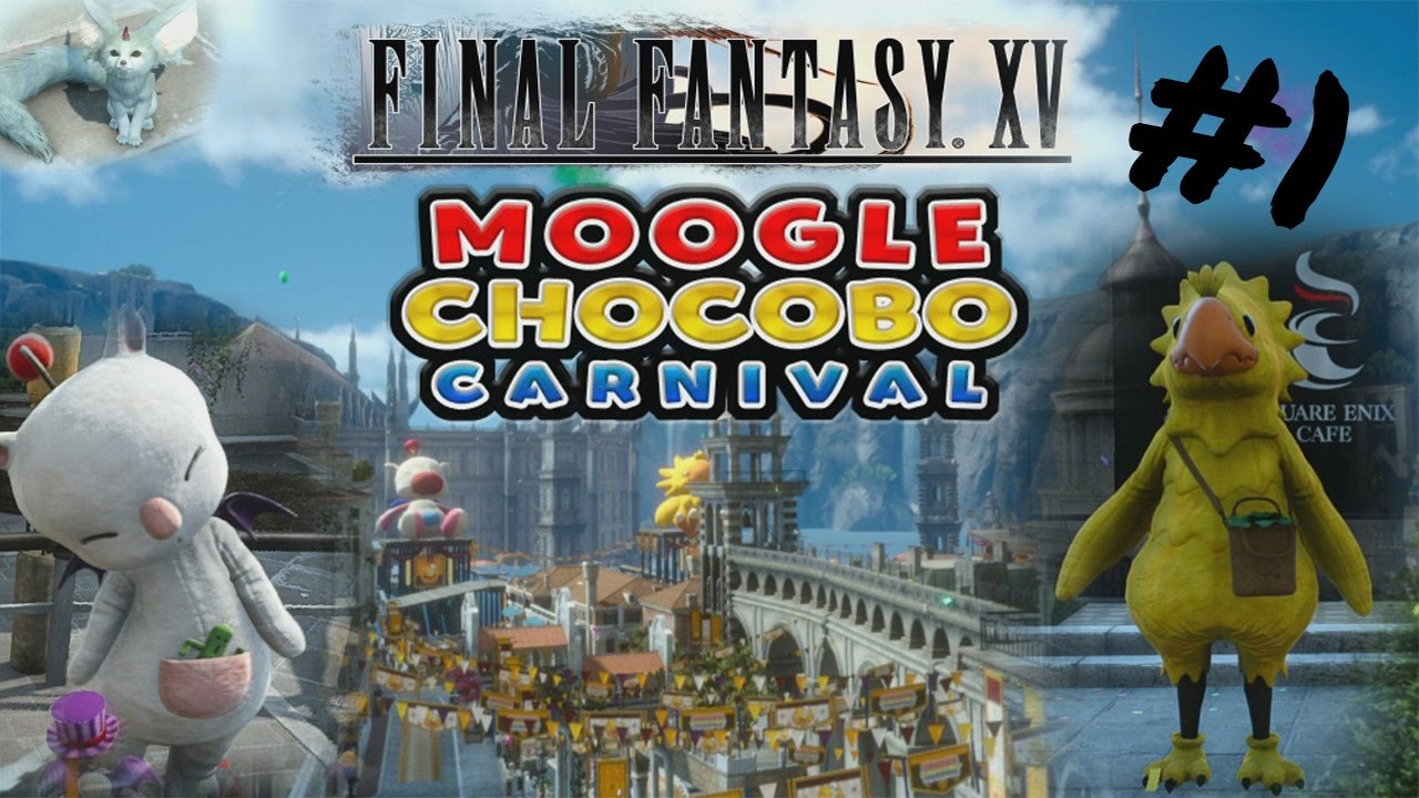 chocobo carnival final fantasy xv how to get outt
